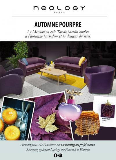 Neology - Canapé et Fauteuil en cuir Mercure