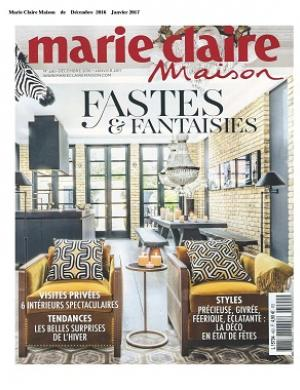 Marie-Claire Maison - Décembre 2016 - Janvier 2017 - Christian Ghion